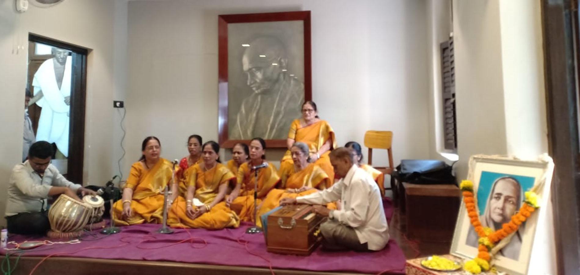 Bhajan Competition on Kasturba Nirvan Din