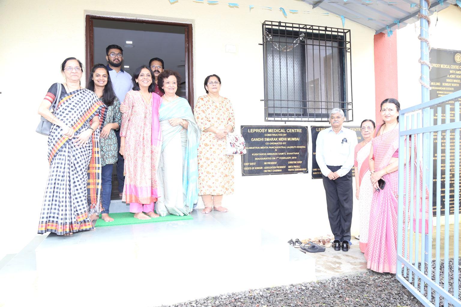 At KRNS Leprosy Medical Centre